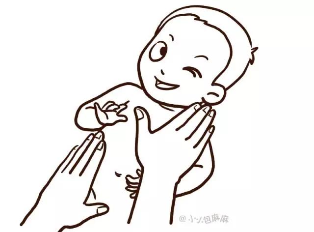 手绘简笔画——小baby